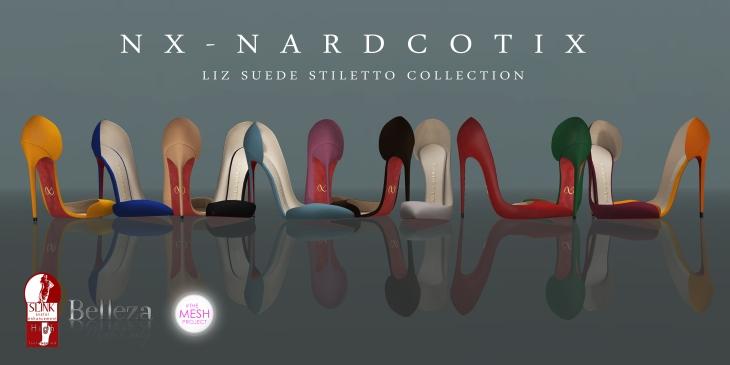 NX-Nardcotix Liz Poster