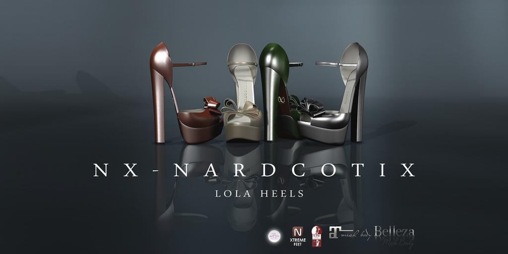NX-Nardcotix Lola Heels